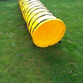 3m Dog Agility Tunnel  Yellow