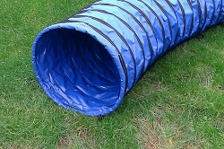 3m Dog Agility Tunnel (Blue)