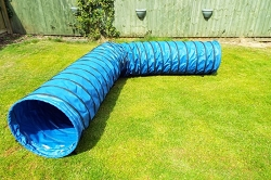 4.5m Dog Agility Tunnel (Blue)