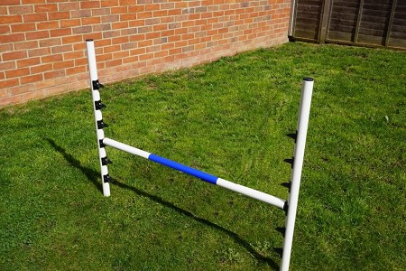 Extra Heights Small Dog Agility Jumps (4 jump set)