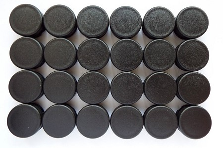 Tube End Caps (Small) - 24 Pack