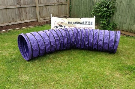 3m Dog Agility Tunnel (Purple)