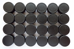 Tube End Caps (Large) - 24 Pack